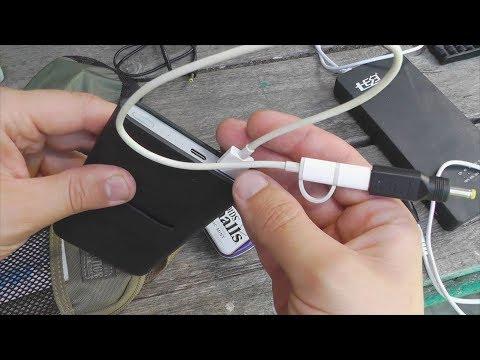 Про переходники для зарядки на USB Type-c и на MicroUSB к камере Panasonic