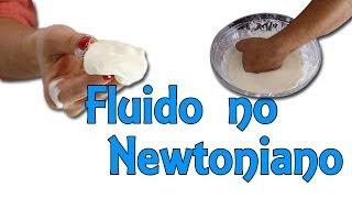 Cómo hacer fluido no newtoniano - Experimento con maicena (Experimentos Caseros)