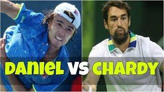 Taro Daniel vs Jeremy Chardy   SF Istanbul 2018 Highlights
