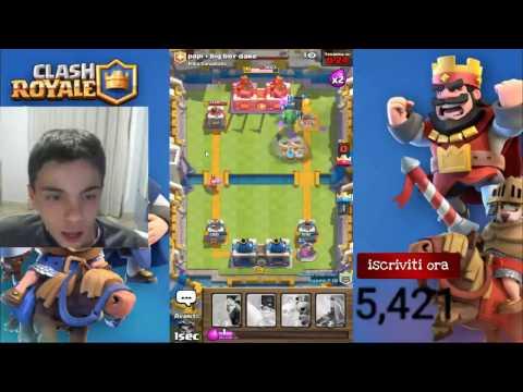 Giochiamo Alle Clan Battle - Clash Royale LIVE