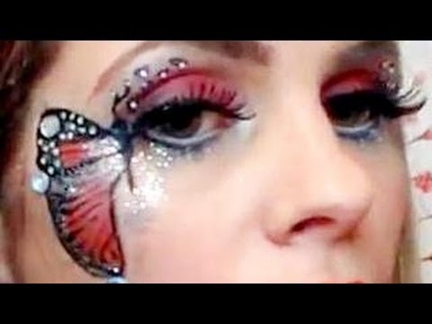 Butterfly Eye Makeup Tutorial - YouTube