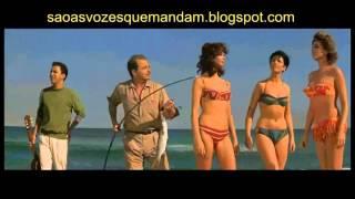 Filme Copacabana Palace : Tom Jobim e Silvia Koscina em cena