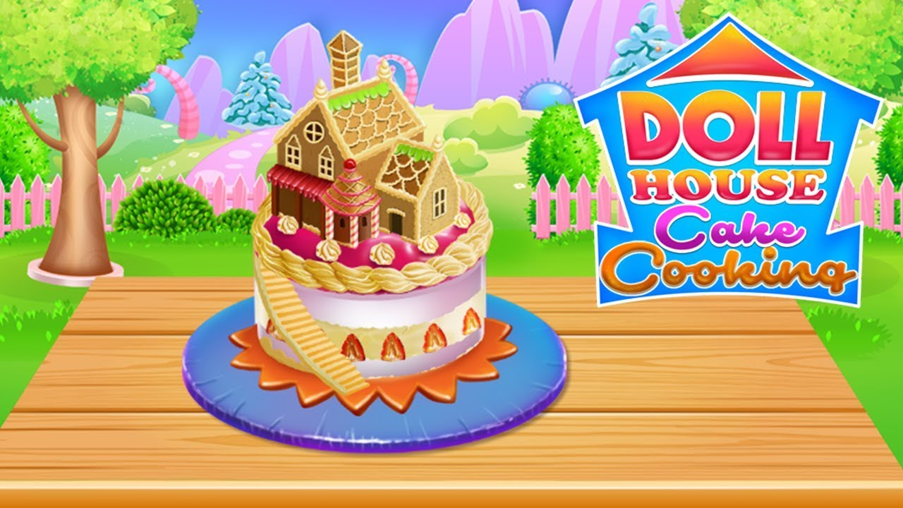 Doll House Cake Cooking Youtube