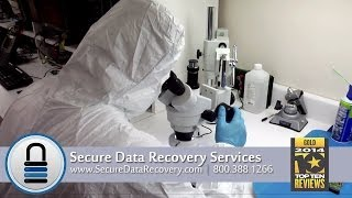 Secure Data Recovery Services - Cleanroom Tour