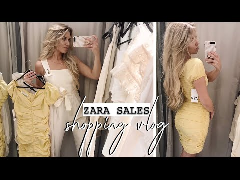 ZARA SUMMER SALES SHOPPING | MANCHESTER VLOG