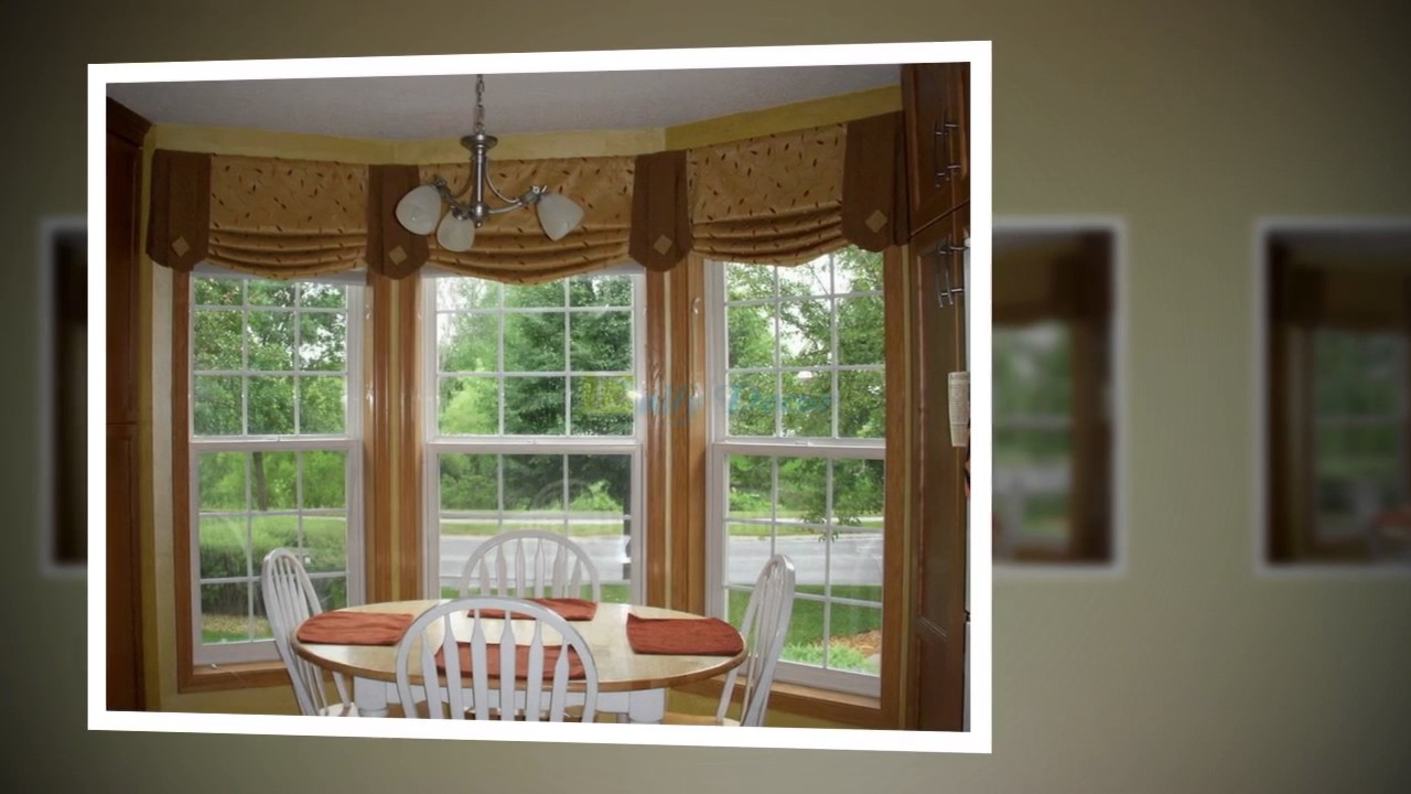 Daily Decor] Living Room Curtain Ideas for Bay Windows - YouTube