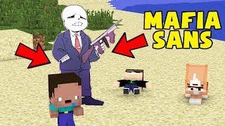 CÙNG CHƠI TRỐN TÌM VỚI MAFIA SANS !!! 🔫💀 - MINECRAFT