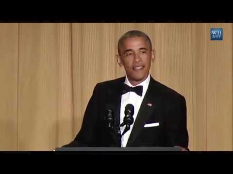 Barack Obama 2015 White House Correspondents Association Dinner