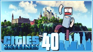 Cities Skylines - Ep.40 : The Castle!