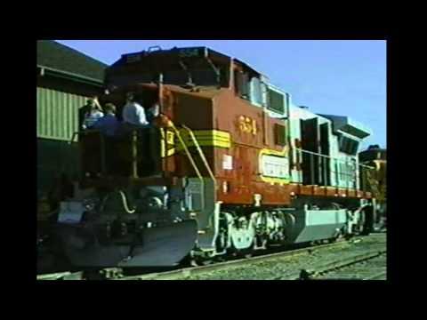 Railfair 1991 - New Santa Fe Dash 8-40BW Number 554