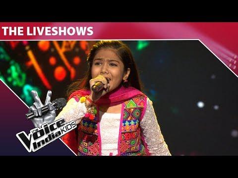 Shruti Goswami Performs On Holiya Mein Ude Re Gulal | The Voice India Kids | Episode 32