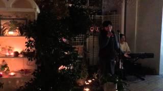 2015年12月19日に米子市四日市商店街「あをん」冬至前の夜のキャンドル...