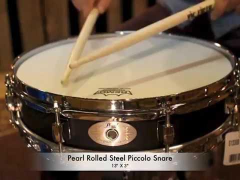 Pearl Steel Piccolo Black