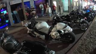 Old Town Kissimmee FL, Bike NIght Thursday