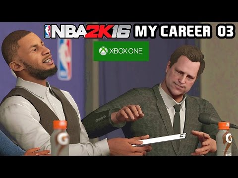 NBA 2K16 - MY CAREER: DRAFT DA NBA! #03 [XBOX ONE]