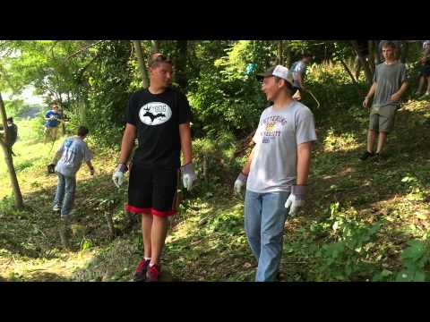 Watch the Kettering students, Flint community clean up neighborhoods