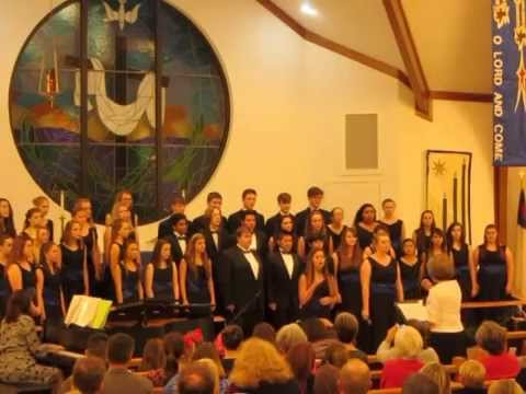 """North Bay Haven Concert Choir sings """"Mary, Did You Know?"""""""