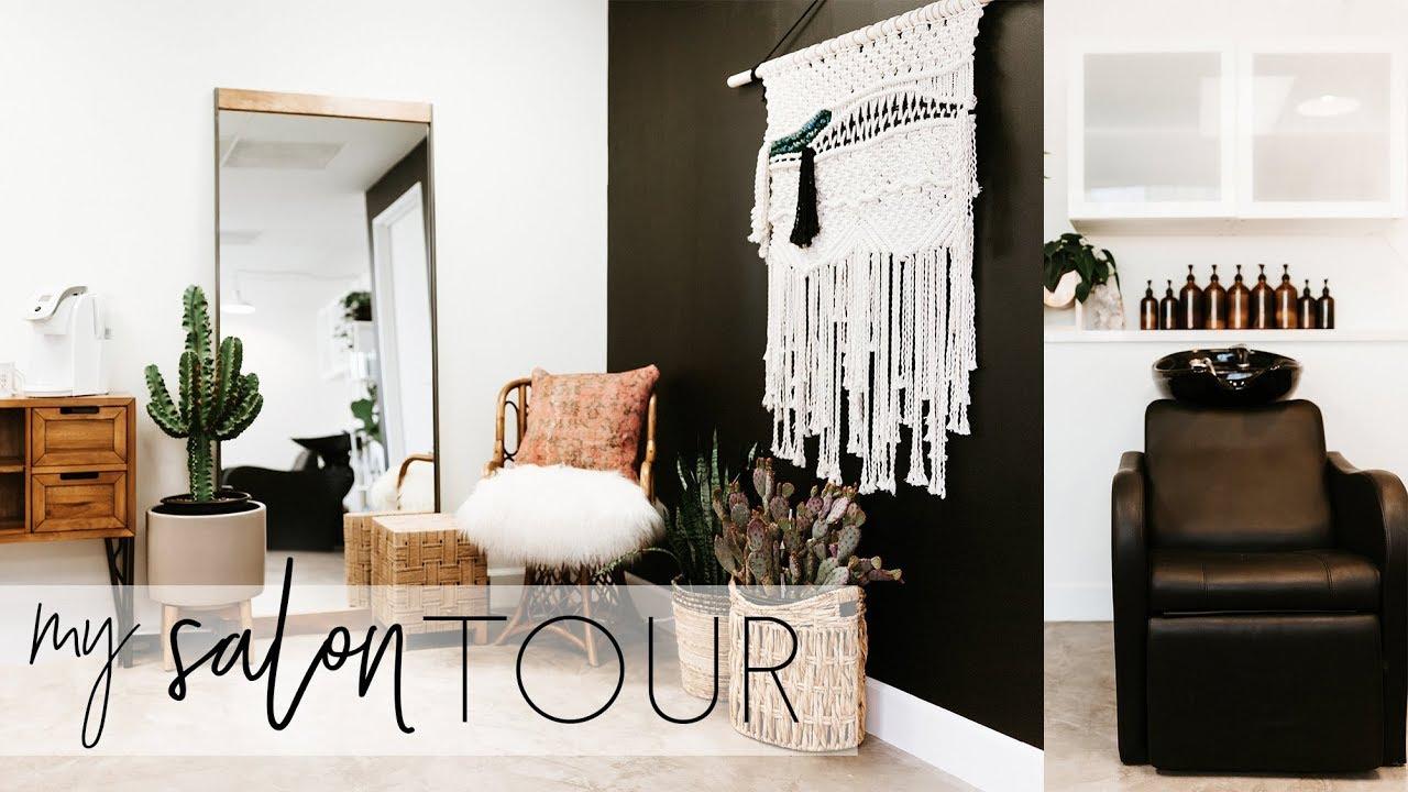 SALON TOUR – See inside my 600 sq ft salon! | Tóm tắt những nội dung về hair salon design đầy đủ