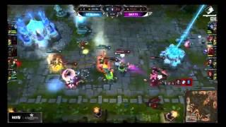 SKT T1 Faker's INSANE Zed play vs KT Ryu's Zed
