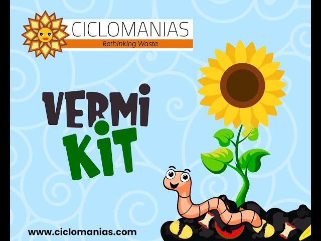 Vermicomposting using your Vermi kit