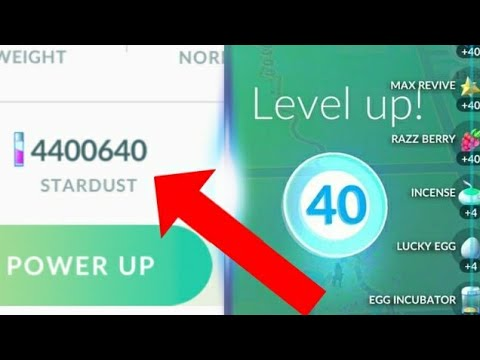 Download Youtube: Final Results: 4 Million Stardust - Level 40 For The 3rd Time! My Pokedex