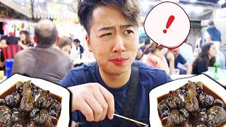 Eating Sea Snails in Hong Kong ft. DISNEYLAND