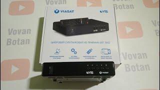 Самонастраивающийся приёмник от Виасат STRONG SRT 7602 : обзор и активация