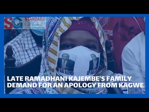 Late Ramadhani Kajembe's family demand for an apology from Health CS Mutahi Kagwe