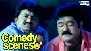 Two Beggers Become Robbers - Jaggesh - Komal Kumar - Best Kannada Scenes