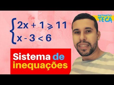 Sistema de inequações do primeiro grau