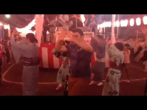 Travel Japan Dan The Wolfman tries Japanese Dance Summer Festival Hidden Martial Arts Techniques