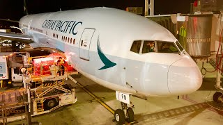 Cathay Pacific Business Class 777-300ER Vancouver to Hong Kong