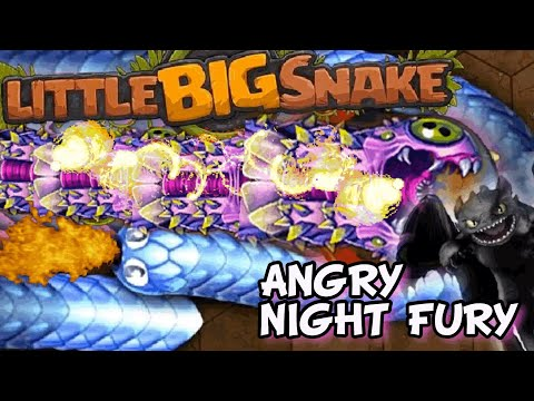 little-big-snake---angry-night-fury-|-giant-snake-best-tactics-|-gameplay-by-supermyrza