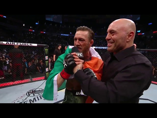 UFC 246: МакГрегор vs Ковбой - Слова после боя