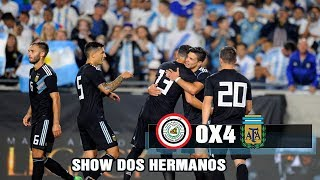 Iraque 0x4 Argentina - Amistoso - 2018 (Gols)