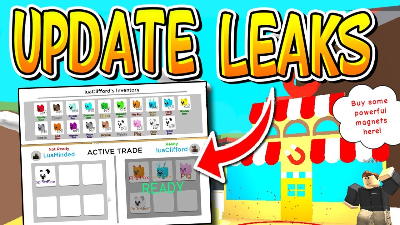 Luaclifford Roblox Roblox Magnet Simulator All Update 5 Leaks Youtube