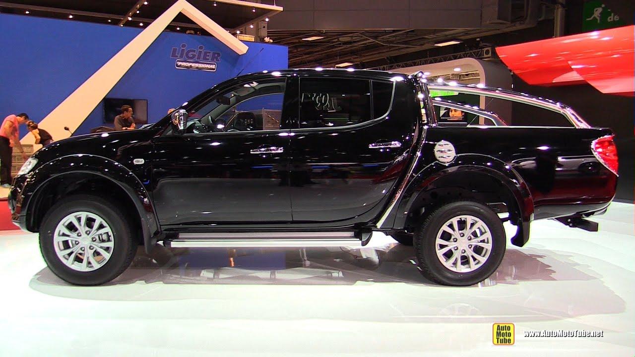 2015 Mitsubishi L200 Double Cab Instyle 2 5l Diesel Walkaround 2014 Paris Auto Show Youtube