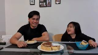 Paano lutuin ang Egg Pie.... surprising Dad from work... (Dairy Farmers vlog) #EggPie