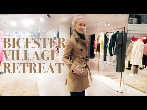 SHOPPING AT BICESTER VILLAGE AND A WELLNESS RETREAT IN THE COUNTRYSIDE   VLOG 75