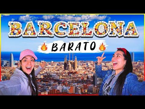 Barcelona: ¡4 días x US$75💰! ¿cómo lo hicimos? - MPV en España