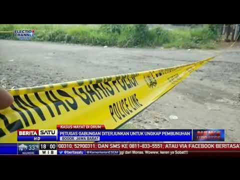 Polisi Temukan Petunjuk Misteri Pembunuhan Mayat Dalam Drum