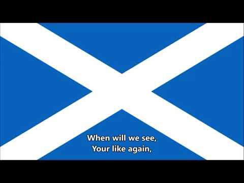 Flower of Scotland - National Anthem of Scotland (English lyrics) Unofficial