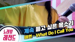 Download [노래방레전드] 공부싫어님의 What Do I Call You(태연) COVER / TJ노래방