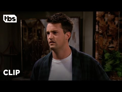 Friends: Chandler Thinks He'll End Up Alone (Season 2 Clip)   TBS