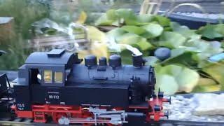 Eisenbahnlied, Kinderlied, schöne Garteneisenbahn, Zug, Eisenbahnlied für Kindergarten zum mitmachen
