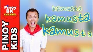 Kamusta Song | Pinoy BK Channel🇵🇭 | TAGALOG FOR KIDS (AWITING PAMBATA)
