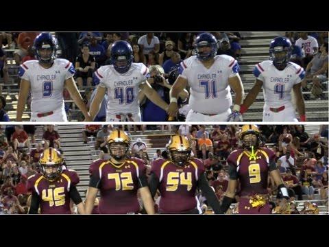 HSFB Arizona : Mountain Pointe vs Chandler - Highlight Mix 2016