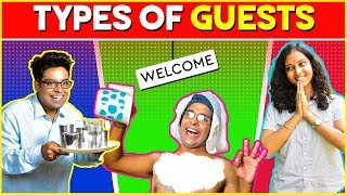 Types of GUESTS | The Half-Ticket Shows
