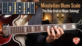 The Mixolydian Blues Hybrid Scale - The Holy Grail of Major Soloing!