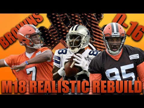 Kizer Becomes Sophomore Beast  Realistic Rebuild of the 0-16 Cleveland Browns | Madden 18 Franchise!
